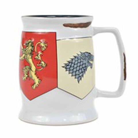 Chope - Game Of Thrones - Emblèmes En Relief (exclu Micro)
