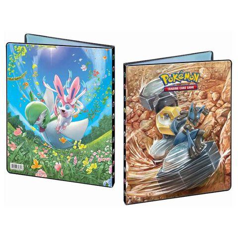 Cahier range cartes - Pokémon - Soleil et Lune 10 -252c.