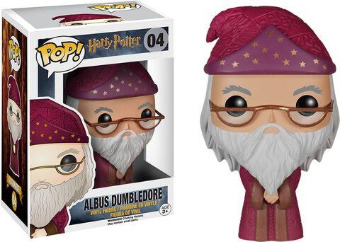 Figurine Funko Pop! N°04 - Harry Potter - Albus Dumbledore Robe Rouge