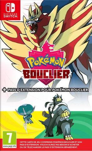 Pokémon Édition Bouclier + Pass d'extension Pokémon Bouclier
