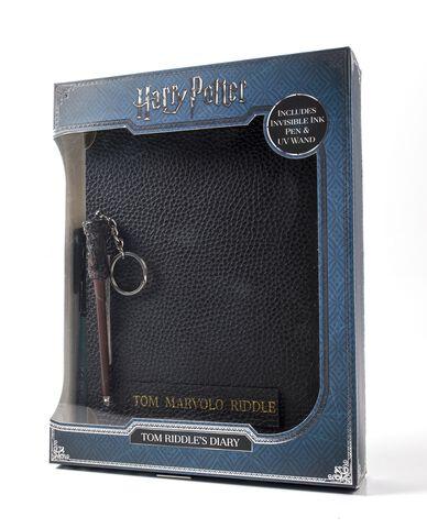 Carnet - Harry Potter - Tom Jedusor Et Stylo Baguette