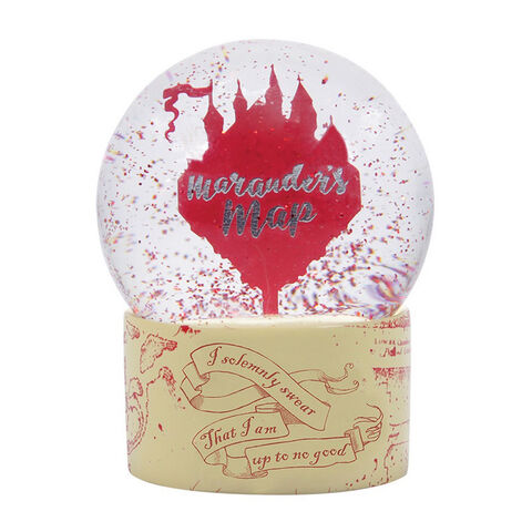 Boule A Neige - Harry Potter - Carte Du Maraudeur