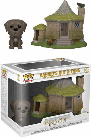 Figurine Funko Pop! - Harry Potter - Cabane D'hagrid Avec Crockdur