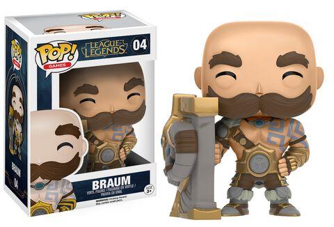 Figurine Funko Pop! N°04 - League of Legends - Braum