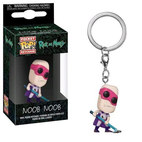 Porte-clés Pop - Rick et Morty - Noob Noob