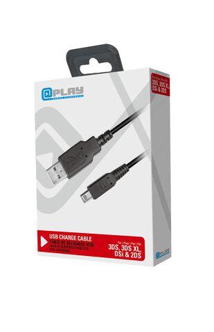 Plap - Câble de Recharge USB @play 3DS / 3DS XL / 2DS / DSi / 3DS