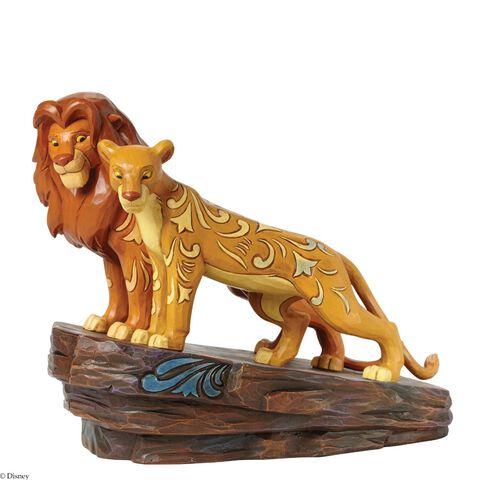 Statuette - Le Roi Lion - Disney Traditions Simba Et Nala