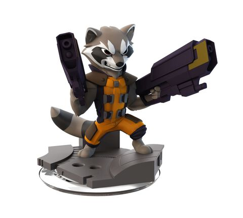 Figurine Disney Infinity 2.0 Rocket Raccoon Marvel Super Heroes