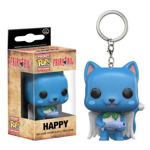 Porte-cles Funko Pop! - Fairy Tail - Happy