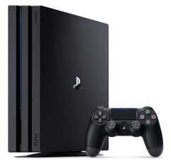 Ps4 Pro Noire 1to - Occasion Pack+