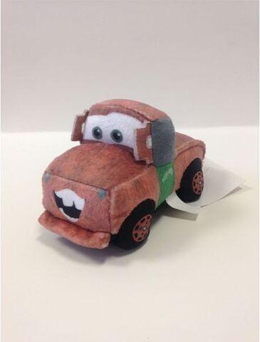 Peluche - Cars - Voiture à friction Martin 20 cm