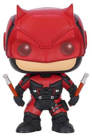 Figurine Funko Pop! N°120 - Daredevil - Daredevil Costume Rouge