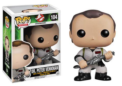Figurine Funko Pop! N°104 - Sos Fantomes - Dr. Peter Venkman