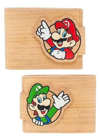 Portefeuille - Nintendo - Effet Bois