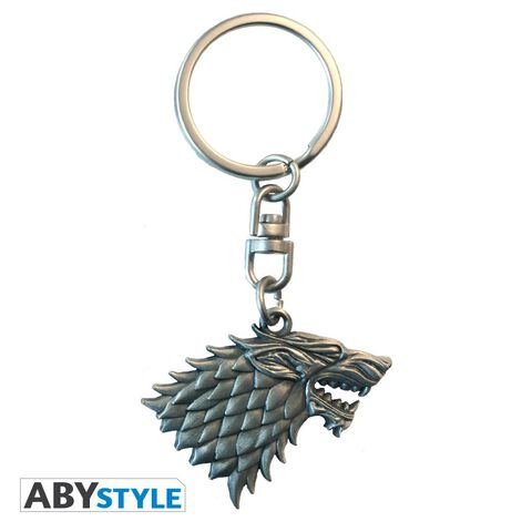 Porte-clés - Game of Thrones - 3D Stark