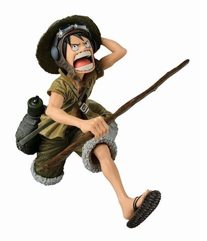 Statuette Scultures - One Piece - Monkey D. Luffy Special Coloring Version Big Z