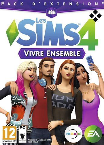 Les Sims 4 - DLC : Vivre ensemble - Version digitale