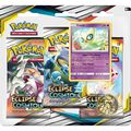 Booster - Pokémon - Pack 3 Boosters - Sl12 Eclipse Cosmique