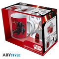 Coffret - Star Wars - Mug 320 ml + Porte-clés PVC + Sticker Kylo Ren