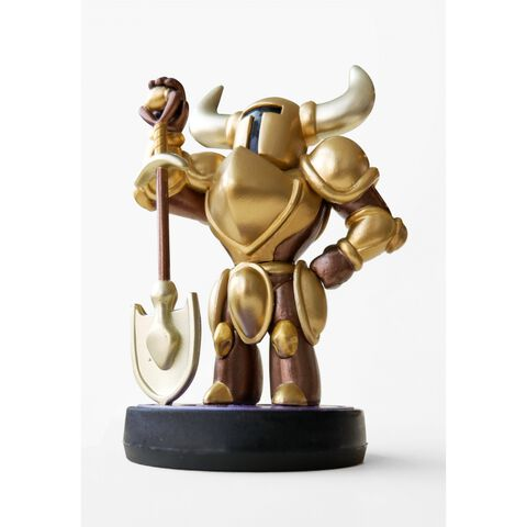 Figurine Amiibo Shovel Knight Treasure Trove Gold