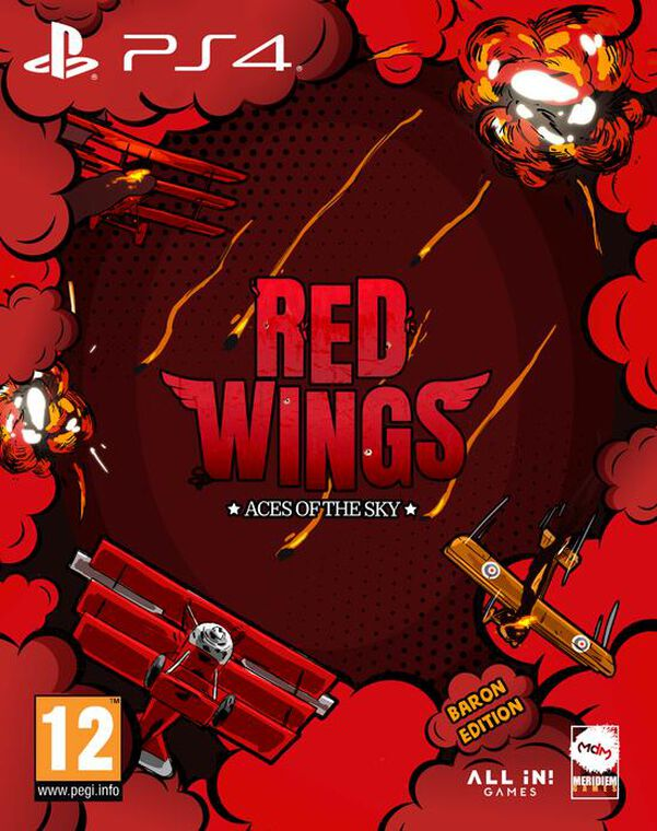 Red Wings Ace Of The Sky - Baron Edition