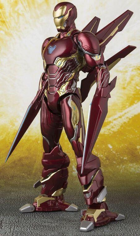 Figurine S.H  Figuarts - Iron Man - MK50 Nano Weapon Set