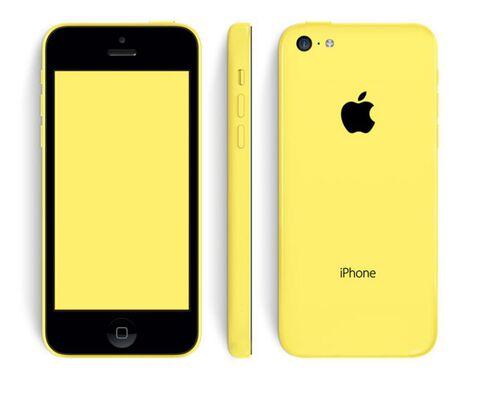 Iphone 5c 32gb Orange Jaune / Bon Etat