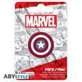 Badge - Captain America - Pin's Bouclier