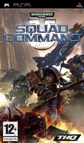 Warhammer 4000 Squad Command