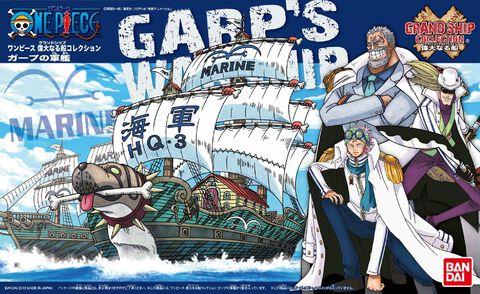 Maquette - One Piece - Garp
