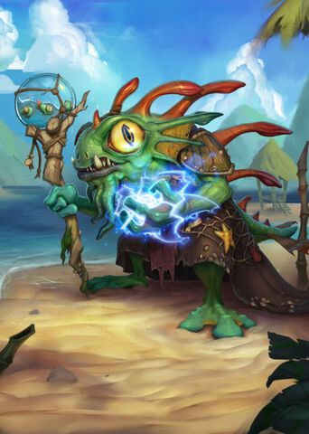 Poster métallique - Hearthstone - Morgl The Oracle