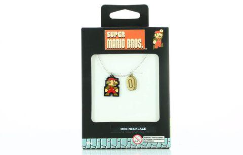 Collier - Mario - Super Mario en émail