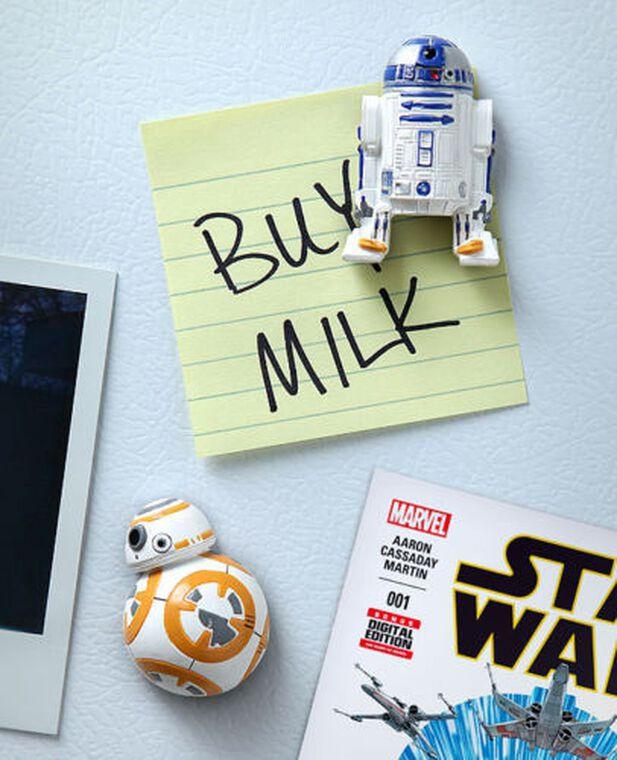 Magnet - Star Wars - Droïdes BB-8 et R2-D2 - Exclusivité Micromania-Zing