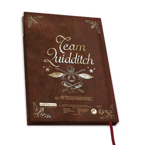 Cahier A5 - Harry Potter - Carnet Quidditch