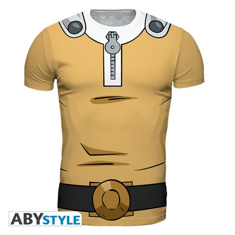 T-shirt Homme - One Punch Man - Saitama - Taille L