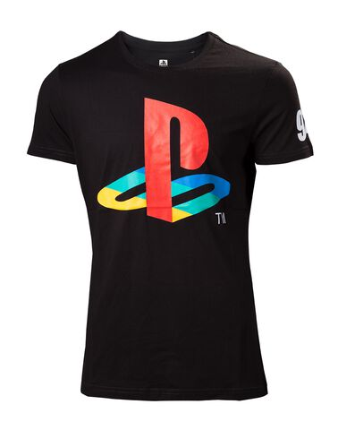 T-shirt - PlayStation - Classic Logo Men's - Taille S