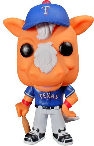Figurine Funko Pop! N°20 - MLB - Ranger's Captain (texas)