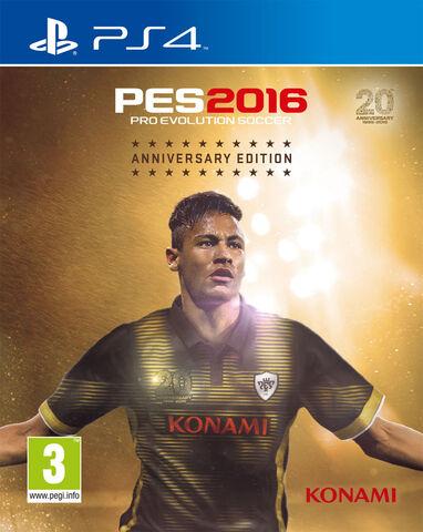 Pro Evolution Soccer 2016 - Edition 20e Anniversaire - Exclusivité Micromania