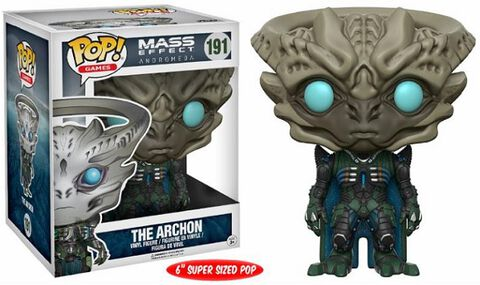 Figurine Funko Pop! N°191 - Mass Effect Andromeda - Archon 15 Cm