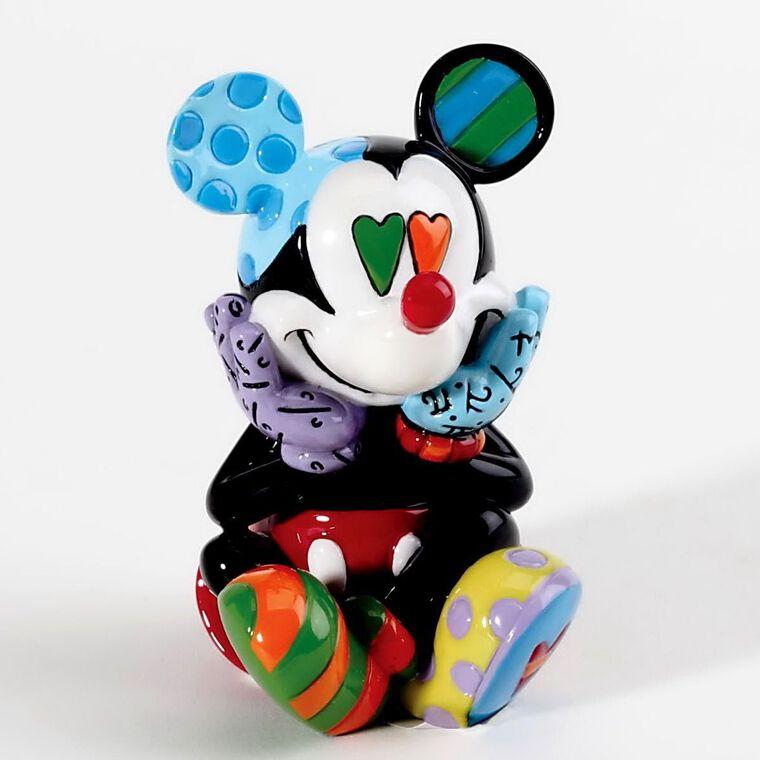 Figurine Britto - Disney - Mickey Mini (Fenêtre transparente)