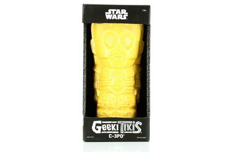 Verre - Star Wars - Geeki Tiki Série 2 C-3PO - Exclusivité Micromania-Zing