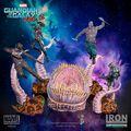 Statuette Iron Studios - Les Gardiens de la Galaxie 2 - Star Lord 26 cm