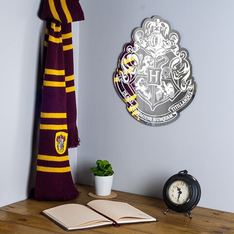 Miroir - Harry Potter - Emblème de Poudlard