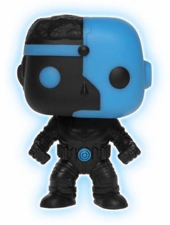 Figurine Funko Pop! N°95 - Justice League - Cyborg Silhouette Gitd