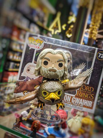Figurine Funko Pop! N° 72- Le Seigneur Des Anneaux - Gwaihir Avec Gandalf