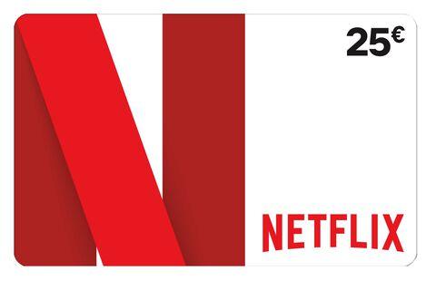 Carte Netflix 25euros Pc