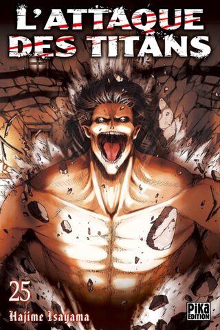 Manga - L'Attaque des Titans - Tome 25