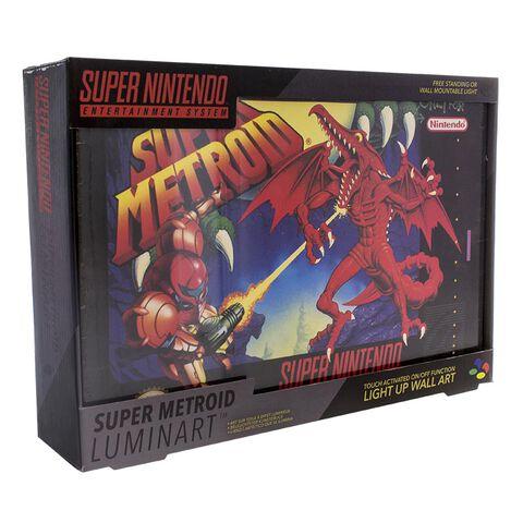 Cadre lumineux - Nintendo - Luminart Super Metroid