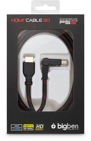 Cable Hdmi 2m Version 1.4 Compatible Tv 3d