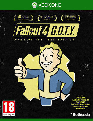 Fallout 4 Goty - Exclusivité Micromania